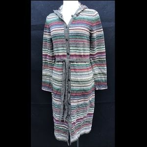 Ralph Lauren Hooded Sweater Dress/Duster